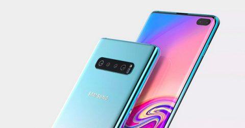 Védelmet biztosító Samsung S10 tok