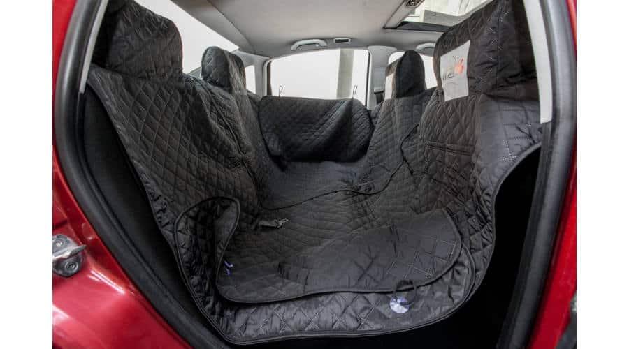 Ülésvédő autóba a kutyás utazásokhoz